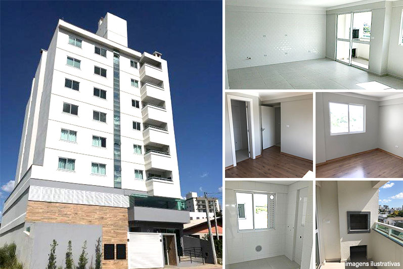 Apartamento 3 quartos, bairro Passo dos Fortes – R$ 450.000,00